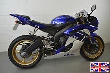 YZF-R6 2017-2018 SP Engineering Carbon Fibre Stubby Domed GP Low Slung Exhaust