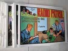 RADIO PATTUGLIA - COMIC ART - SERIE COMPLETA IN 24  VOLUMI