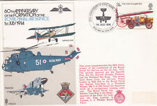 GB 1974 60th Anniv Formation of Royal Naval Air Service cover VGC