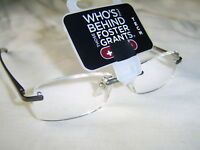 "Foster Grant ""Le Carre Tech"" Fashion Reading Glasses RRP  £12.50 From Only £5.99"