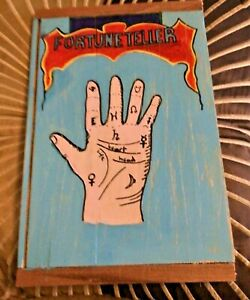 fortune teller sign hand painted
