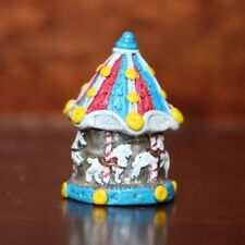 PEWTER THIMBLE MERRY-GO-ROUND - MADE IN ENGLAND