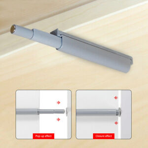 Drawer Door Cabinet Catch Push To Open Magnetic Tip Latch Touch Release Grey 89