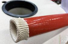 20mm Guaina siliconica fibra vetro ignifuga protezione cavi tubi Auto Motorsport