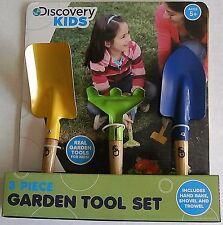 Discovery Kids ~ 3 Piece Garden Tool Set