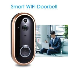 Wireless WiFi 1080P Doorbell 166° Motion Detection Night Vision PIR App Control