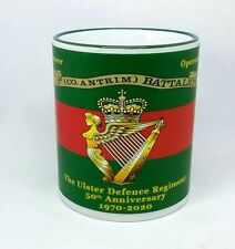 More details for ulster defence regiment coffee mug 1st co antrim battalion 50th anniversary gift