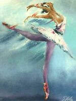 "Victor Spahn "" PRIMA BALLERINA"" Hand Signed by Artist- with COA and Appraisal"