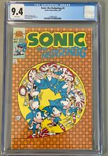 Sonic the Hedgehog #3 * First Mini-Series * CGC 9.4 *May 1993 Archie White Pages