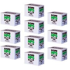 10 x Ilford HP5+ 36 exp 400 ISO Black & White Camera film 36 B+W Plus 35mm