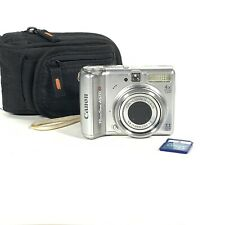 Canon Power Shot A570 IS Digital Camera 7.1 Mega Pixels 4X Zoom Tested Working