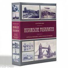 Postkartenalbum für bis zu 200 Postkarten !  Motiv historische Karten    348002