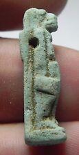 Zurqieh - af2140- Ancient Egypt. Faience Lion Headed Am 00006000 Ulet. 600 - 300 B