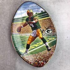 Green Bay Packers Brett Favre Collection Plate Bradford Exchange 1997