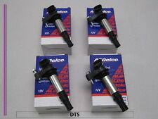 Set of 4 New A/C Delco Ignition Coil D501C,UF375,12613057, 12629037