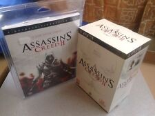 Coffret Collector PS3 d'Assassin's Creed II (2) WHITE EDITION + GUIDE = NEUF