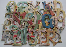 Basic Grey *RECESS* Chipboard Letters ~*New*~
