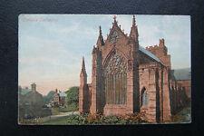 Carlisle Cathedral, Cumbria, Vintage Postcard, Postmarked Carlisle 1904