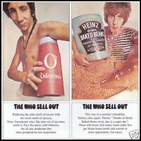 THE WHO - SELL OUT D/Rem CD Album ~ PETE TOWNSEND~ROGER DALTREY 60's ROCK *NEW*