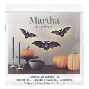 Martha Stewart Illuminated Silhouettes Bats