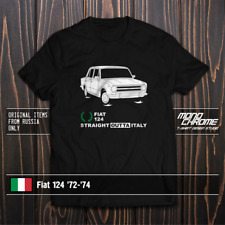 T-shirt Fiat 124 '72-'74
