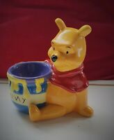"Vintage Disney Ceramic Figure ""Winnie The Pooh""  with his 'Hunny' Pot"