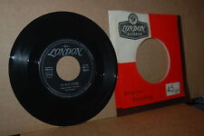 TOP 100 HIT: THE CHAMPS; TOO MUCH TEQUILA; 1960 LONDON MINT- ITALIAN PRESSING 45