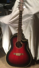 More details for tanglewood odyssey electro acoustic guitar and case