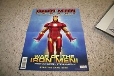 New Iron Man Comic Movie  12x12 24x24 27x27 Fabric Poster E-1042