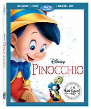 SEALED Disney's PINOCCHIO (Blu-ray+DVD+Digital HD) w/slip Signature Collection