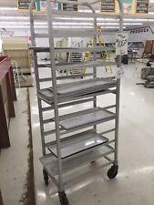 "20 Sheet Aluminum Bun Pan Bakery Rack Rolling Kitchen Commercial 26"" x 20"" x 70"""
