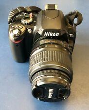 Nikon D40 digital SLR camera w/ AF-S DX 18-55mm lens, CCD sensor!