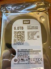 Western Digital WD Caviar Black 6TB 7200RPM 6 Gb/s SATA 128MB (WD6001FZWX) HDD