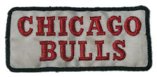 "2004 CHICAGO BULLS NBA BASKETBALL 3 3/8"" STYLIZED TEXT TEAM LOGO PATCH"