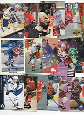 PAST TEAM RUSSIA SOVIET UNION CCCP and NHL HOCKEY 50 CARD LOT