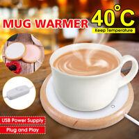 Up to 40℃ USB Electric Cup Mug Warmer Heater Pad Thermos Coffee Tea Milk Drink