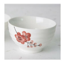 Plum Pottery Rice Bowl Rice Dish Tableware Kitchenware