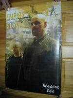 Breaking Bad Poster Walter White Jesse Pinkman Empire Business