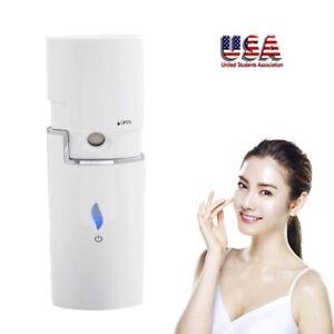 Portable USB Changer Skin Care Sliding Nano Facial Steamer Sprayer Device