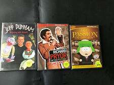 3 DVDs:Jeff Dunham-Arguing with Myself, Comedy Central DVDs (Richard Pryor)(P)