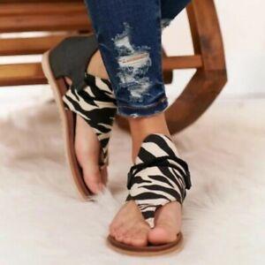New Women Shoes Open Toe Sandals Back Zipper Summer Casual Sandals Gladiator B