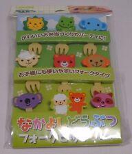 Torune Lunch Decoration Bento Accessory 3D Food Forks Cute Animal 8pcs