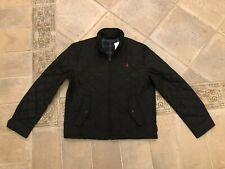 Man Polo Ralph Lauren Navy Quilted Jacket Size L New