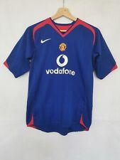 Manchester United away football jersey 2005/2006 age 13-15 years No.7 Ronaldo