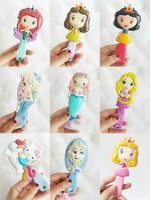 Air Cushion Hair Brush Snow White Princess Mermaid Girl Kid Comb Hellokitty Gift