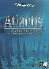 ATLANTIS  3 DVD BOX SET - IN SEARCH OF THE MYSTERIOUS LOST CITY IN ANCIENT WORLD