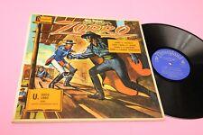 WALT DISNEY LP 4 AVVENTURE DI ZORRO LP + LIBRO ORIG ITALY 1968 EX++ !!!!!!!!!!!!