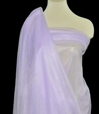 """NYLON TRICOT KNIT  SHEER LINGERIE FABRIC LILAC  108"""" WIDE BTY"""