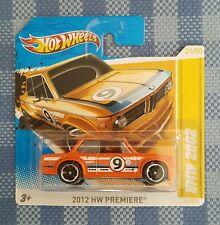 Hot Wheels Bmw 2002. 2012 HW Premiere . Sehr selten.