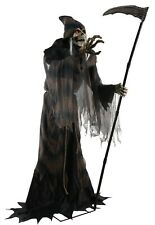Halloween Animated TERRIFYING LUNGING GRIM REAPER OF DEATH Prop Haunted House